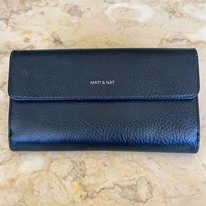 Matt & Nat Vegan Cruelty Free Leather Large Wallet